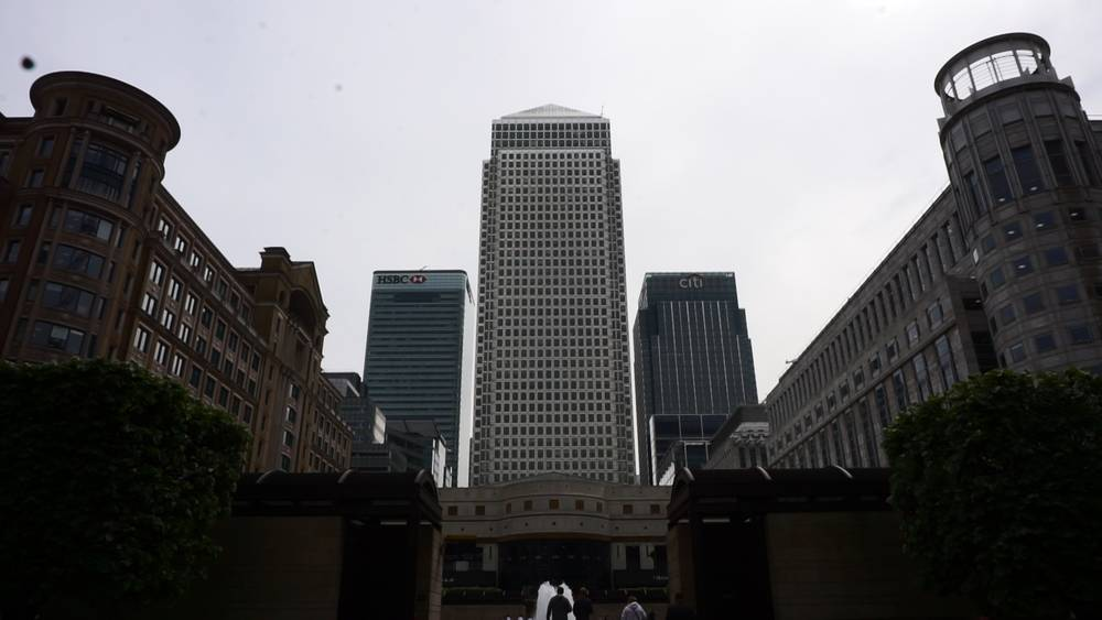 Canada Square Canary Wharf Finance Regeneration Student Corporate Walking Tour