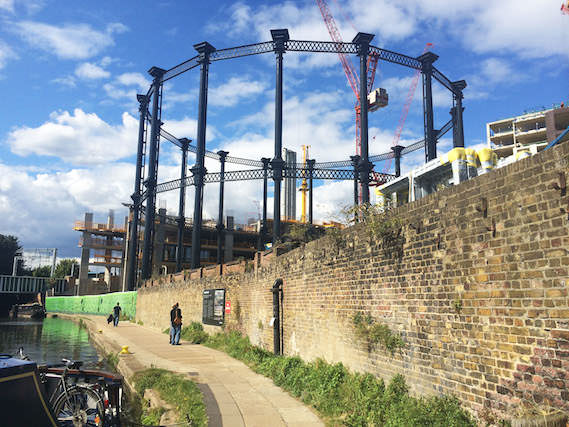 Gasholder kings cross regeneration