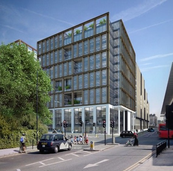 New Camden council HQ Kings Cross Regeneration