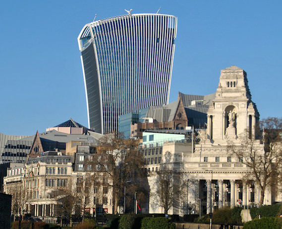 20 Fenchurch Street Walkie Talkie